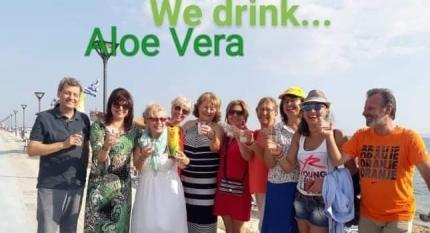 Αλόη Βέρα Forever Living | aloehome.gr | Beach Party με την ομάδα της Δράμα